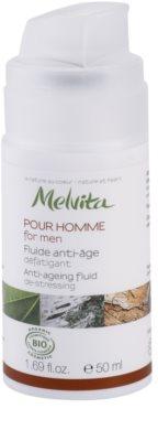 Melvita Pour Homme fluid proti staranju kože za utrujeno kožo 1