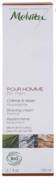 Melvita Pour Homme пенообразен крем бръснене 2