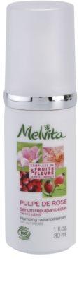 Melvita Pulpe de Rose aufhellendes Serum gegen die ersten Anzeichen von Hautalterung