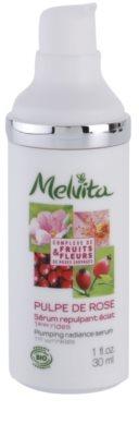 Melvita Pulpe de Rose aufhellendes Serum gegen die ersten Anzeichen von Hautalterung 1