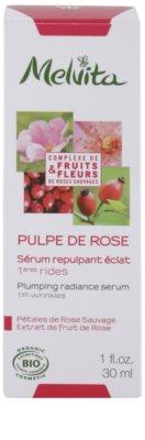 Melvita Pulpe de Rose aufhellendes Serum gegen die ersten Anzeichen von Hautalterung 3