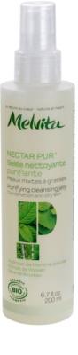 Melvita Nectar Pur gel limpiador suave  para pieles mixtas y grasas