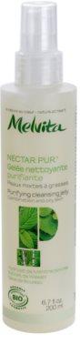 Melvita Nectar Pur nežni čistilni žele za mešano in mastno kožo