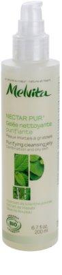 Melvita Nectar Pur sanftes Reinigungsgelee für fettige und Mischhaut 1