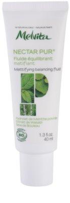 Melvita Nectar Pur fluid matifiant pentru ten mixt si gras