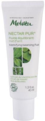 Melvita Nectar Pur mattierendes Fluid  für fettige und Mischhaut
