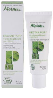 Melvita Nectar Pur mattierendes Fluid  für fettige und Mischhaut 1