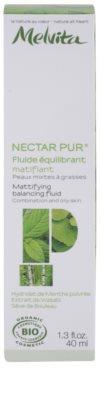 Melvita Nectar Pur mattierendes Fluid  für fettige und Mischhaut 2