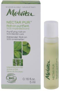 Melvita Nectar Pur tratamiento  localizado para pieles con imperfecciones 2