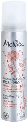 Melvita Eaux Florales Rose Bio bruma de corp hidratanta