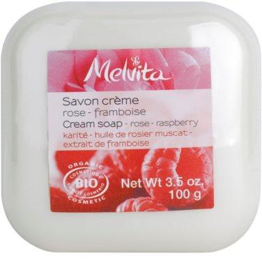 Melvita Savon крем сапун с масло от шеа