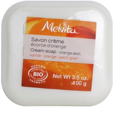 Melvita Savon cremige Seife mit Bambus Butter