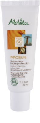 Melvita Prosun мінеральний захисний крем для обличчя SPF 50