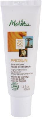 Melvita Prosun creme facial protetor com minerais SPF 50
