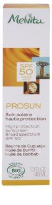 Melvita Prosun ásványi védő krém az arcra SPF 50 2