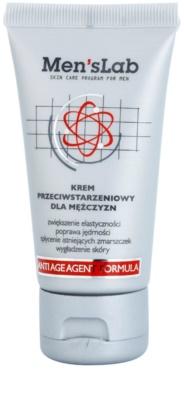 Men's Lab Anti-Aging Agent Formula Creme gegen die ersten Anzeichen von Hautalterung