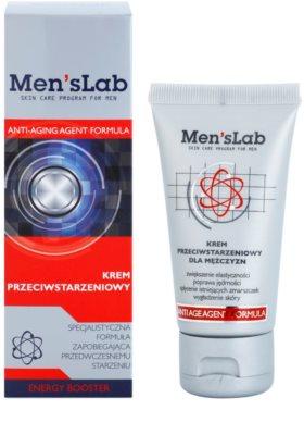 Men's Lab Anti-Aging Agent Formula Creme gegen die ersten Anzeichen von Hautalterung 1