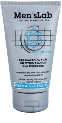Men's Lab Purifying Agent Formula очищуючий гель для звуження пор та надання матового ефекту