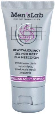 Men's Lab Revitalizing Agent Formula gel para contorno de ojos antibolsas y antiojeras