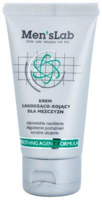 Men's Lab Smoothing Agent Formula nyugtató krém hidratáló hatással