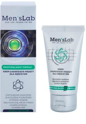 Men's Lab Smoothing Agent Formula crema calmanta cu efect de hidratare 1