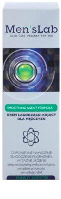 Men's Lab Smoothing Agent Formula заспокоюючий крем зі зволожуючим ефектом 2
