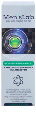 Men's Lab Smoothing Agent Formula crema calmanta cu efect de hidratare 2