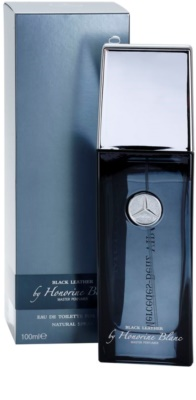 Mercedes-Benz VIP Club Black Leather Eau de Toilette para homens 1
