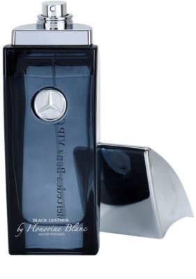 Mercedes-Benz VIP Club Black Leather Eau de Toilette para homens 3
