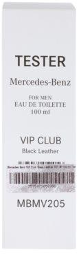 Mercedes-Benz VIP Club Black Leather woda toaletowa tester dla mężczyzn 1
