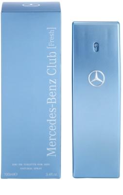 Mercedes-Benz Mercedes Benz Club Fresh toaletna voda za moške