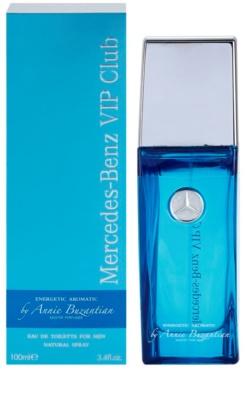 Mercedes-Benz VIP Club Energetic Aromatic Eau de Toilette para homens