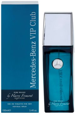 Mercedes-Benz VIP Club Pure Woody eau de toilette férfiaknak