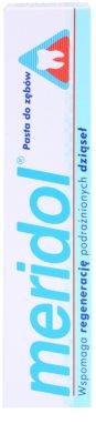 Meridol Dental Care Zahnpasta unterstützt die Regeneration von gereiztem Zahnfleisch 3