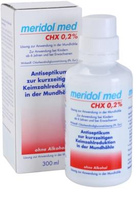 Meridol Med Antiseptisches Mundwasser ohne Alkohol 2