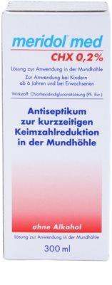 Meridol Med антисептична вода за уста без алкохол 3