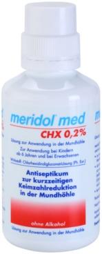 Meridol Med antyseptyczny płyn do płukania jamy ustnej bez alkoholu