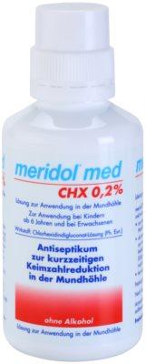 Meridol Med антисептична вода за уста без алкохол