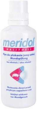 Meridol Halitosis płyn do płukania jamy ustnej przeciw nieświeżemu oddechowi 2