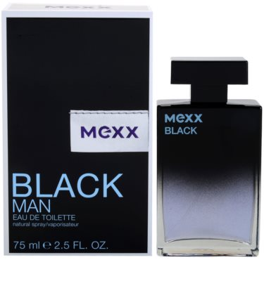 Mexx Black Man New Look Eau de Toilette para homens