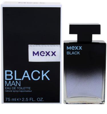 Mexx Black Man New Look Eau de Toilette pentru barbati