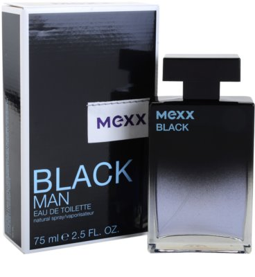 Mexx Black Man New Look eau de toilette para hombre 1