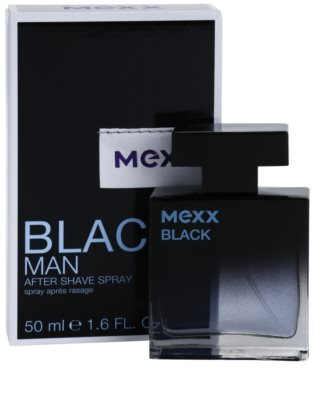 Mexx Black Man New Look after shave para homens 1