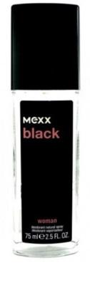 Mexx Black Woman deodorant s rozprašovačem pro ženy