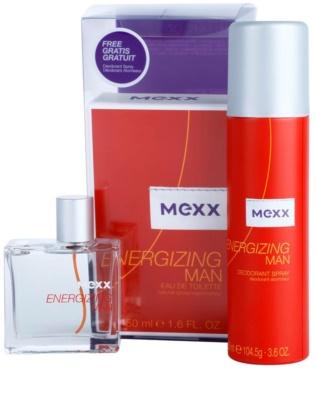 Mexx Energizing Man lote de regalo