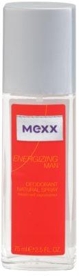 Mexx Energizing Man deodorant s rozprašovačem pro muže