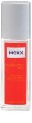 Mexx Energizing Man desodorizante vaporizador para homens