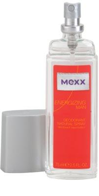Mexx Energizing Man Deo mit Zerstäuber für Herren 1