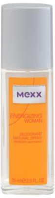 Mexx Energizing Woman deodorant s rozprašovačem pro ženy