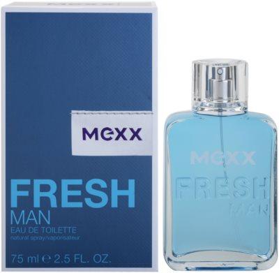Mexx Fresh Man New Look Eau de Toilette pentru barbati